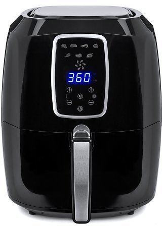 Best Choice Products 5.5qt 6-in-1 Digital Family Sized Air Fryer Kitchen Appliance w/ LCD Screen and Non-Stick Fryer Basket, Bla