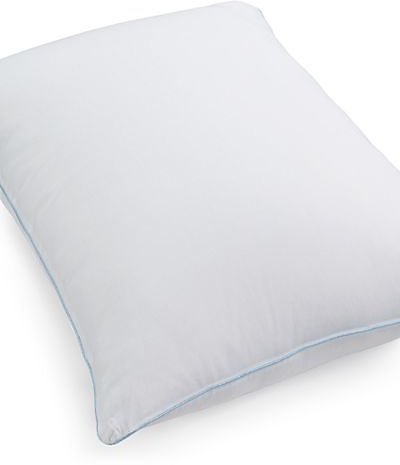 Any Position Standard/Queen Pillow, Hypoallergenic Fiber Fill, Created for Macy's