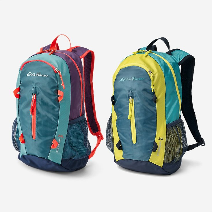 Back! Stowaway Packable 20L Daypack (8 Colors)