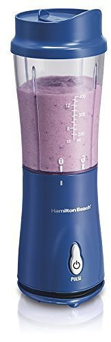amilton Beach Personal Blender for Shakes and Smoothies with 14oz Travel Cup and Lid, Multi Color Options