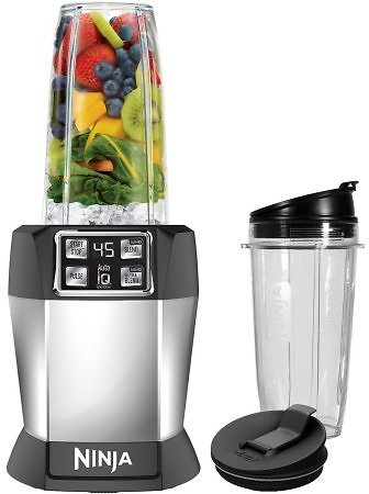 Ninja Nutrient Extraction Single Serve Blender with Auto IQ Technology + Ships Free