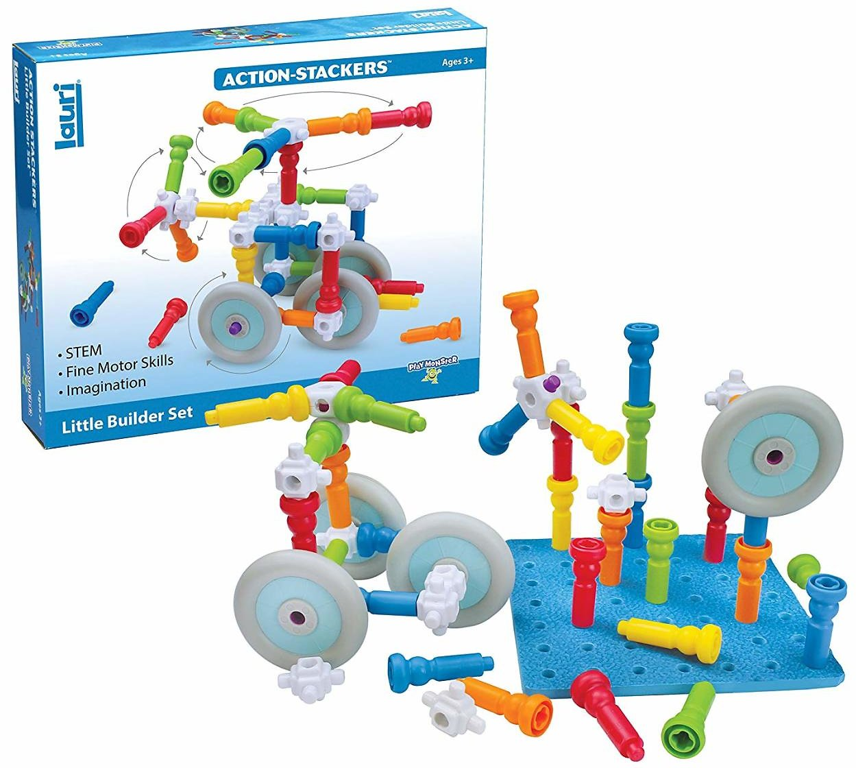 PlayMonster Lauri Action-Stackers Build Set