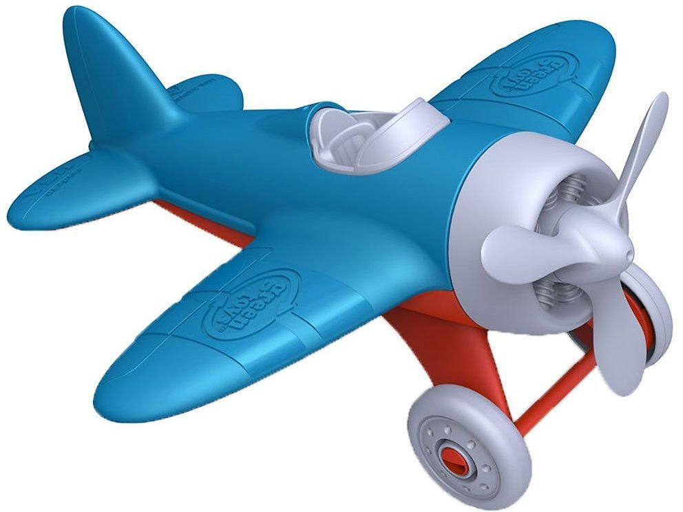 Green Toys Airplane Blue Air Transport Toy