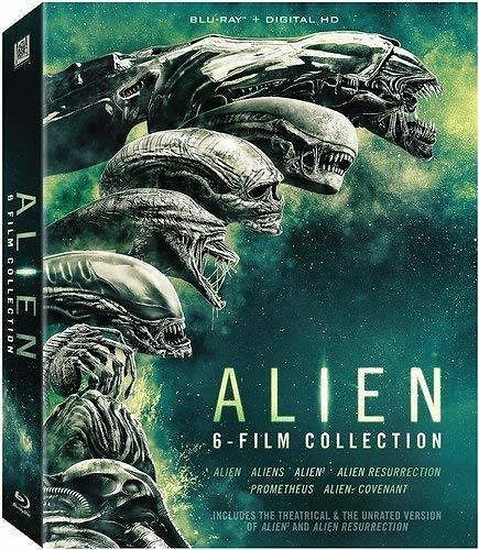 Alien: 6 Film Collection, Blu-ray