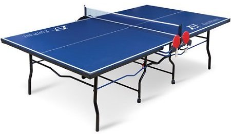Classic Sport 3000 Two Piece Table Tennis Table; Tournament Size 9 Ft. x 5 Ft.