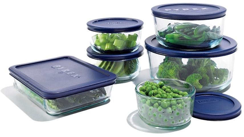 12-Pc Pyrex Storage Set