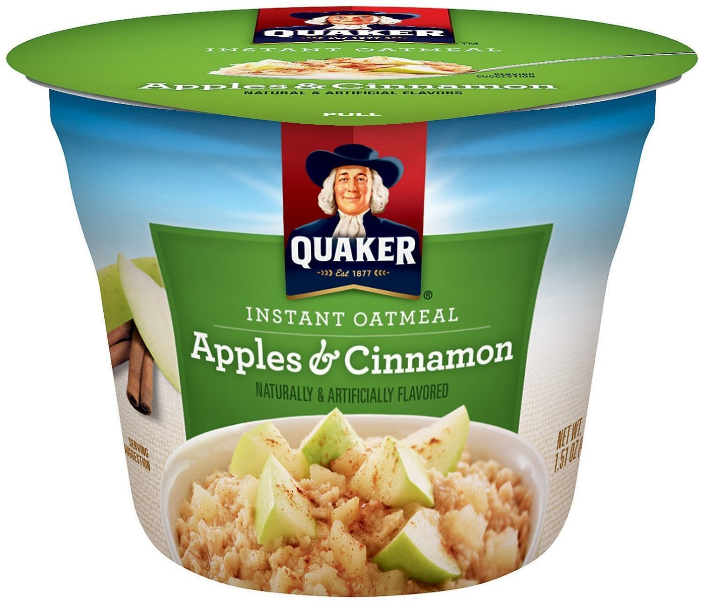 12-Ct Quaker Instant Oatmeal Express Cups