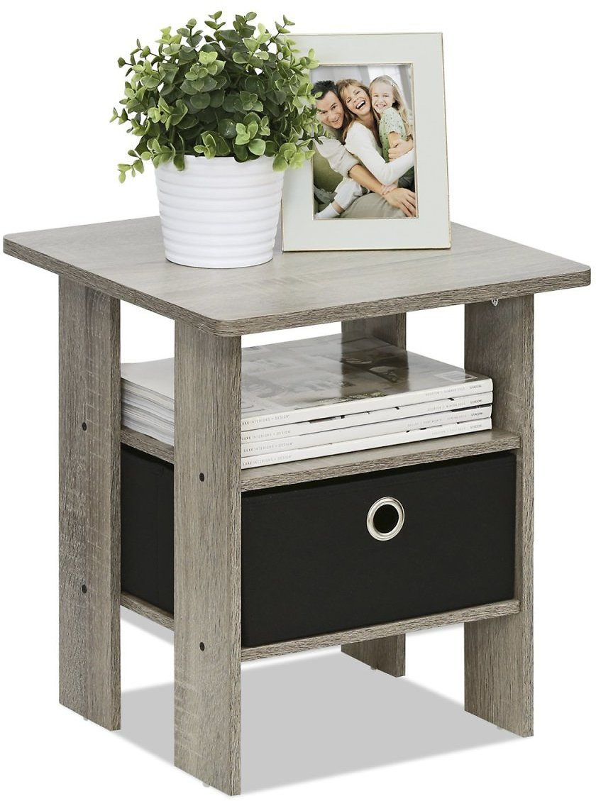 Furinno Nightstand with Drawer