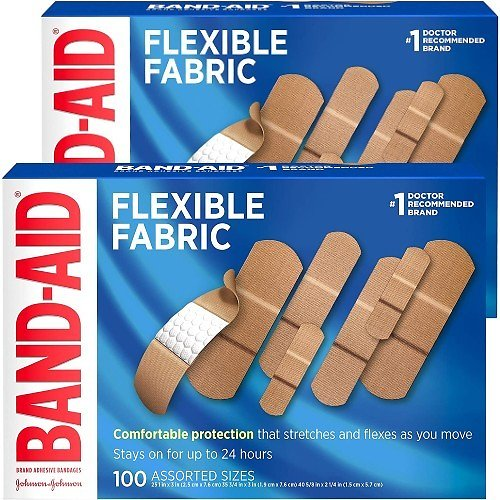 200-Count Band-Aid Brand Flexible Bandages
