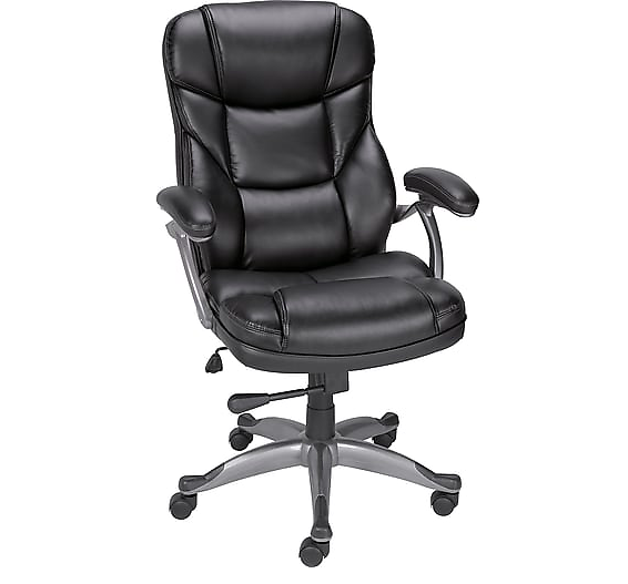 Leather High-Back Manager Chair