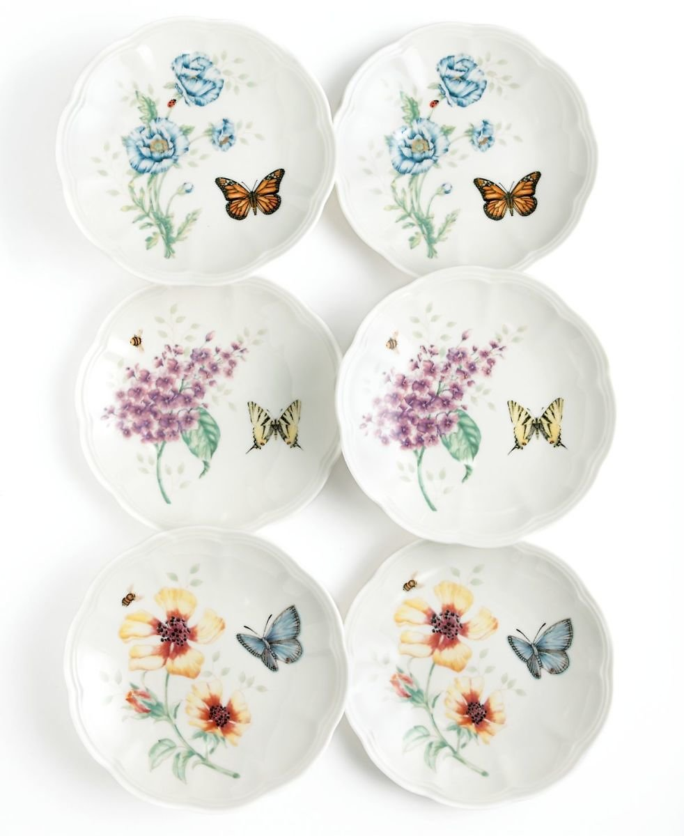 Lenox 6-Set Butterfly Meadow Party Plates