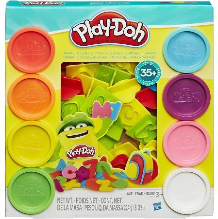 Play-Doh Numbers Letters N Fun Set w/8 Cans