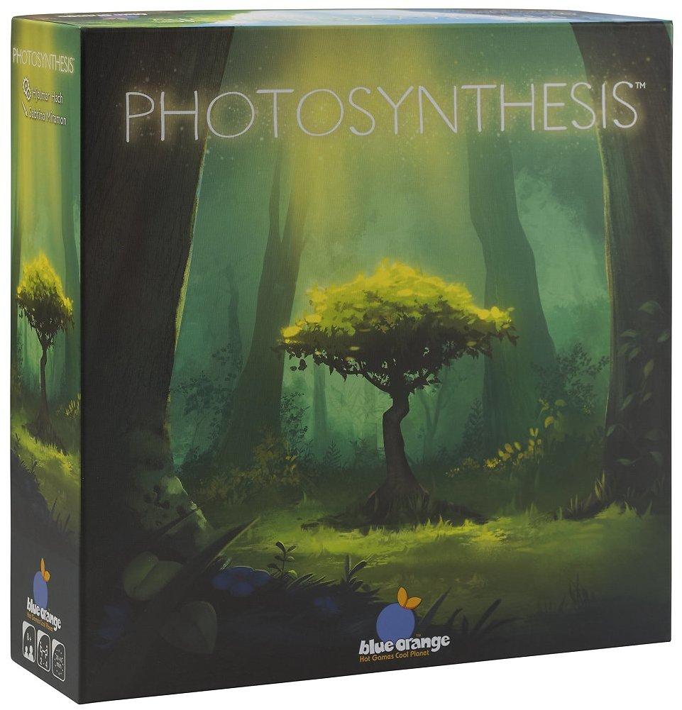 Blue Orange Games Photosynthesis Board Game - Award Winning Family or Adult Strategy Board Game for 2 to 4 Players.