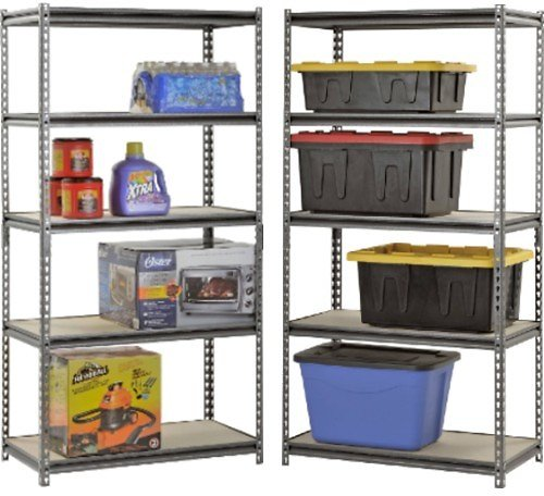 Muscle Rack 5-Shelf Steel Shelving + F/S