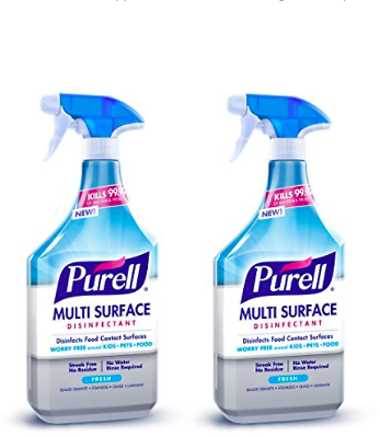 2-Pack Purell Multi Surface Disinfectant Spray