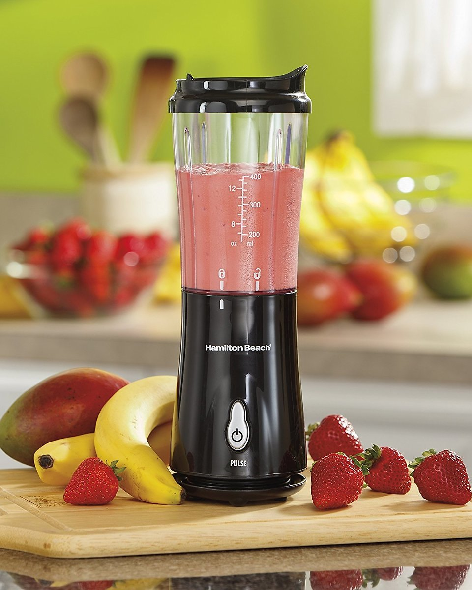Hamilton Beach Personal Creations Blender with 14 Oz Travel Cup and Lid