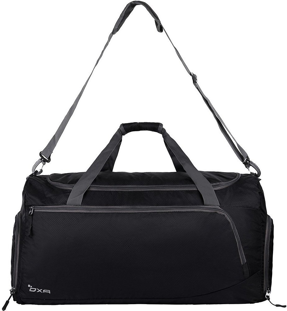 Lightweight Foldable Travel Duffel Bag w/ Shoes Bag