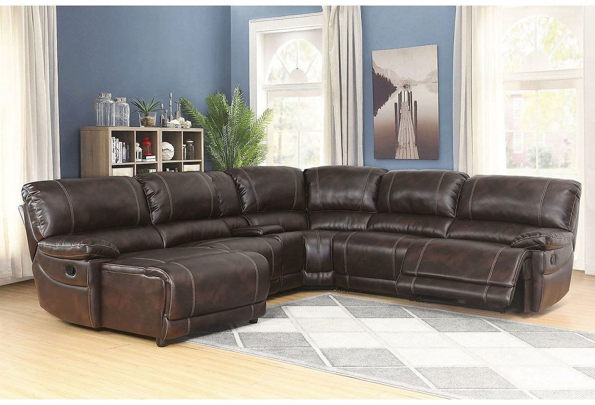 Carrington 6-Piece Sectional Sofa + Free Shipping