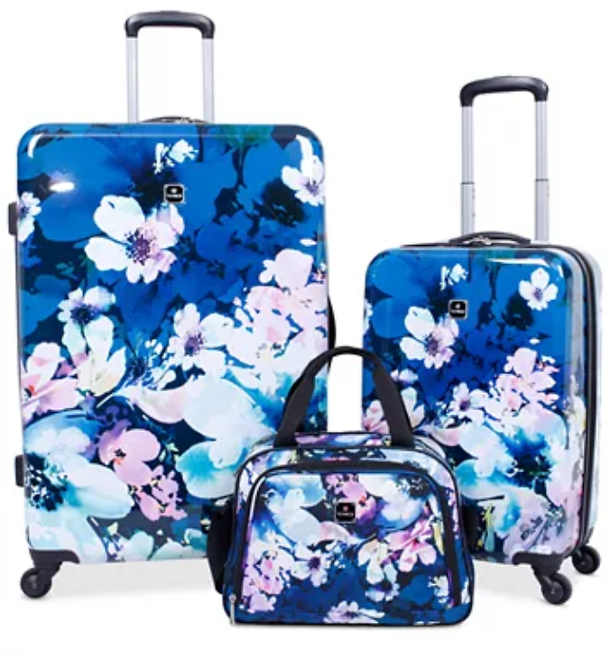 Tag Pop Art 3-Pc. Hardside Spinner Luggage Set (3 Colors)