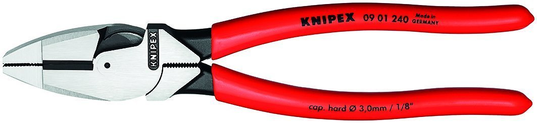 Knipex 09 01 240 9.5-Inch Ultra-High Leverage Lineman's Pliers