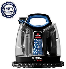 (Ships Free) BISSELL SpotClean ProHeat Portable Spot Carpet Cleaner | 5207 Refurbished!