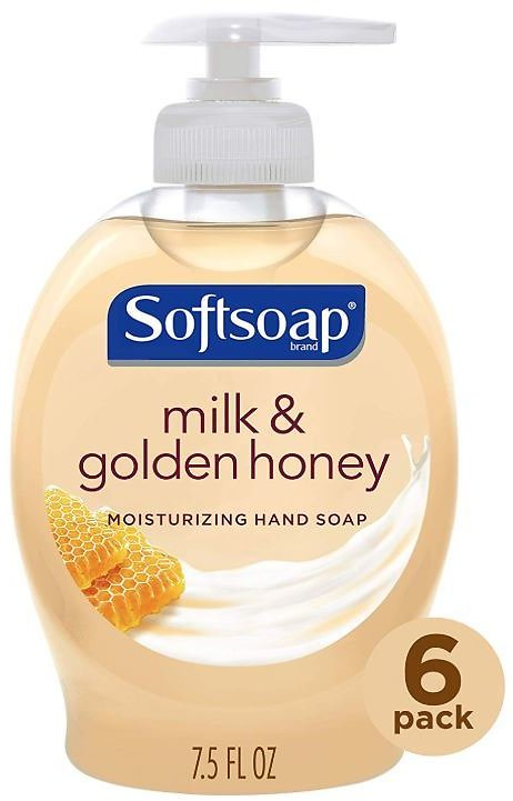 6-Pack Softsoap Liquid Hand Soap (7.5-Oz)