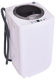Costway Full-Automatic Laundry Wash Machine Washer/Spinner W/Drain Pump