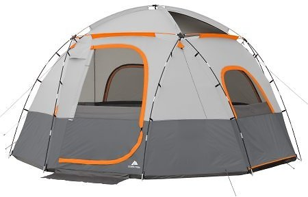 (Ships Free) Ozark Trail 9-Person Sphere Tent with Rope Light