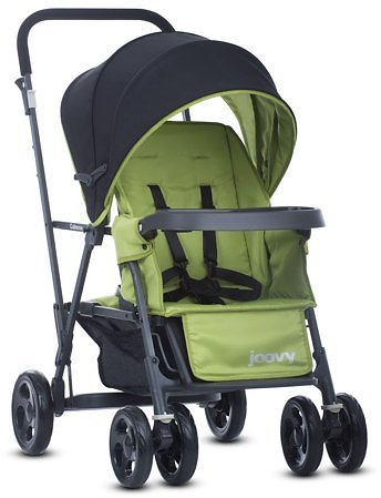 Joovy Caboose Graphite Stand-On Stroller (Appletree)