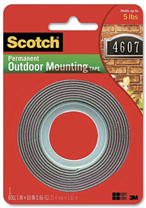 3M Scotch Exterior Mounting Tape (60 in)