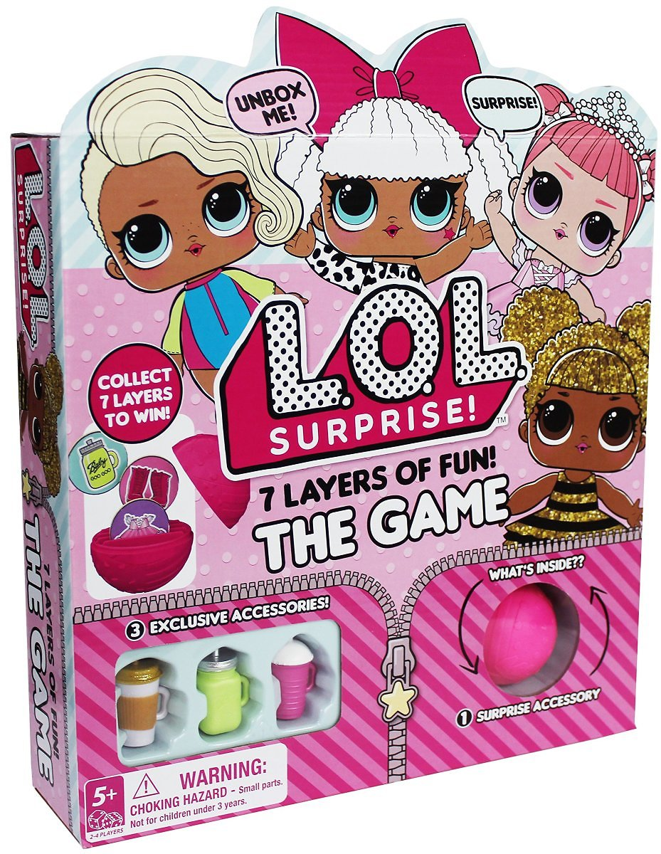 L.O.L. Surprise! 7 Layers of Fun Game