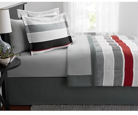 Mainstays Red Stripe Bed in a Bag