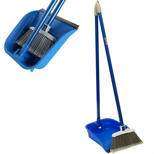 Quickie Lobby Broom & Dustpan