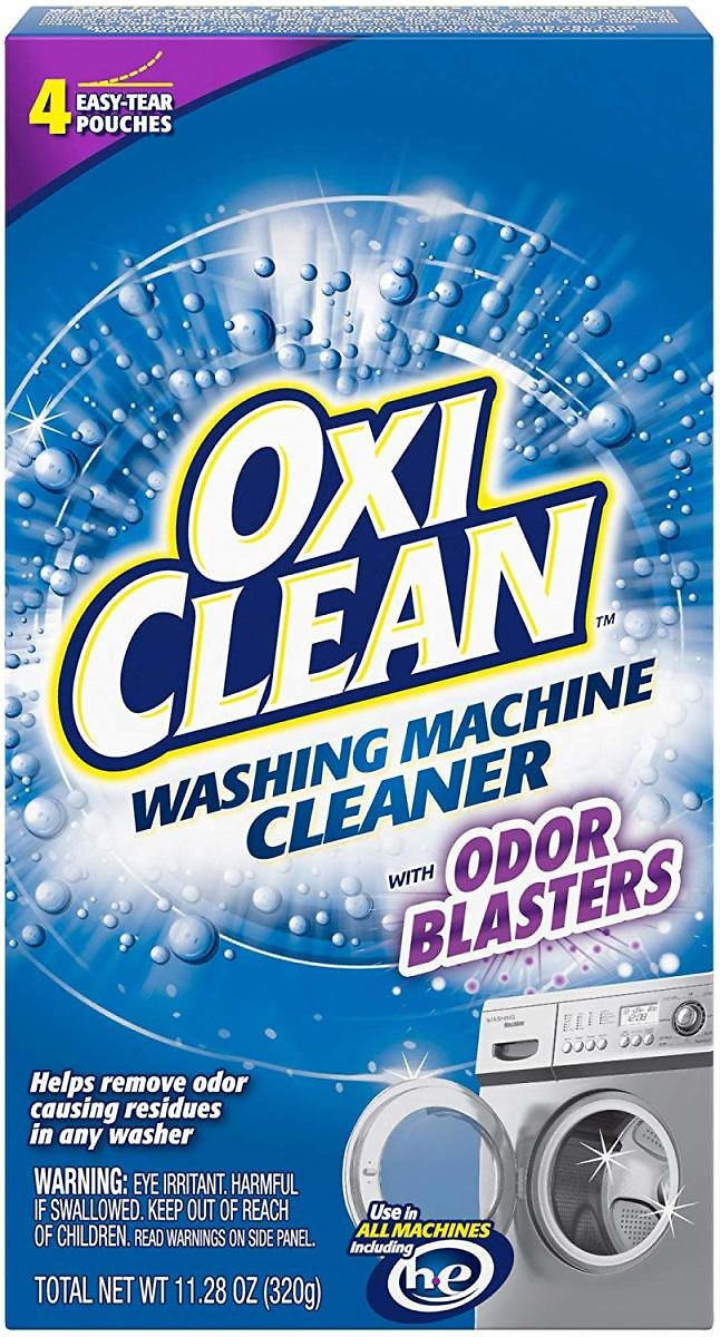 4-Ct. OxiClean Washing Machine Cleaner with Odor Blasters