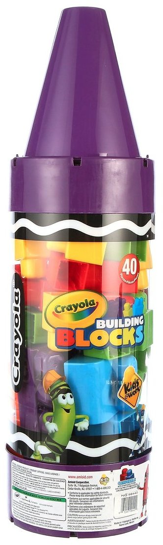 Crayola Kids@Work 40 Pc Blocks in 22