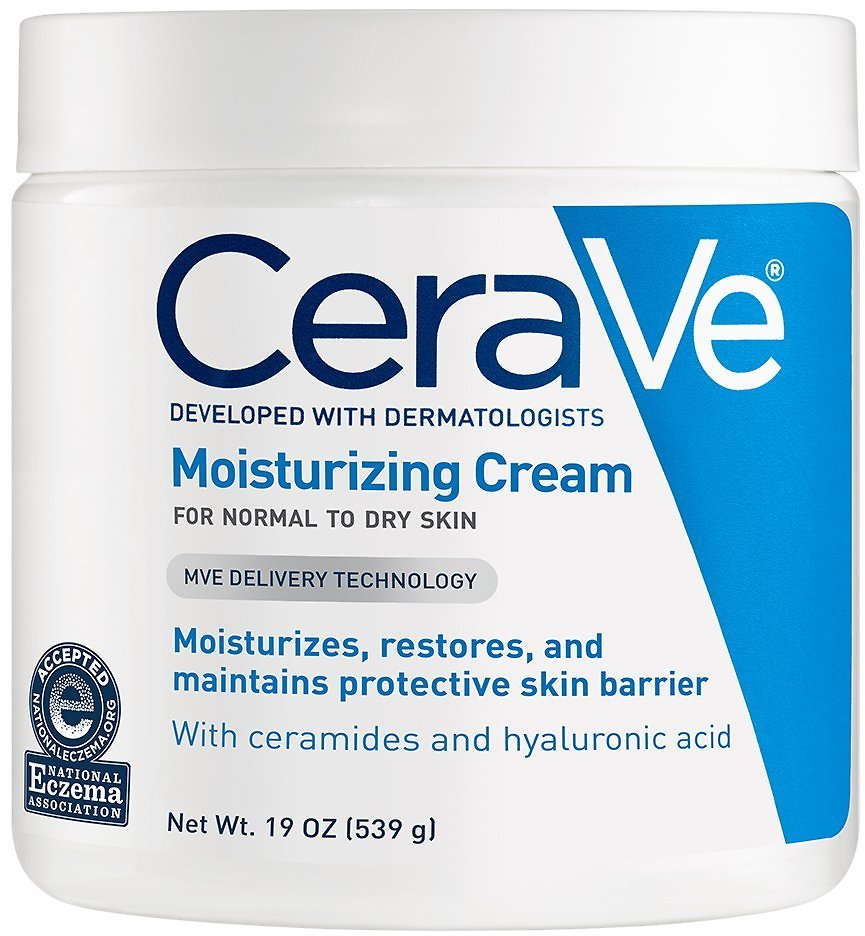 19-Oz CeraVe Daily Face and Body Moisturizing Cream on sale for $12.49