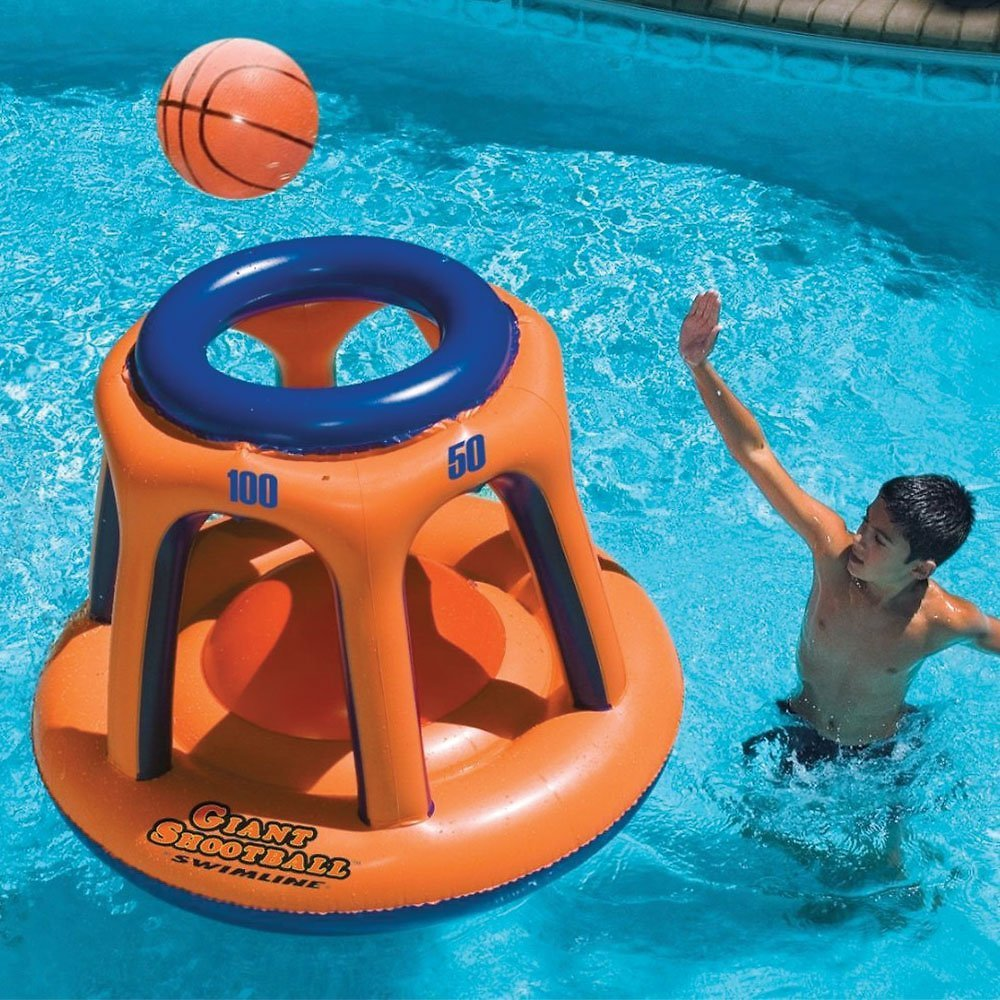 Swimline Giant Shootball Basketball Pool Game