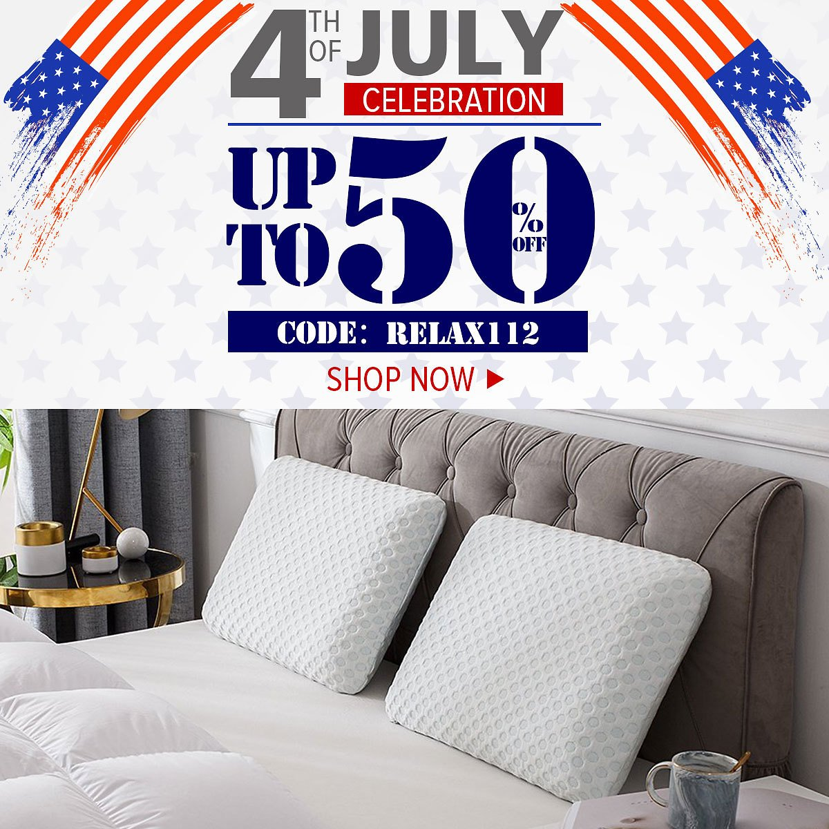 4th of July Up to 50% Off