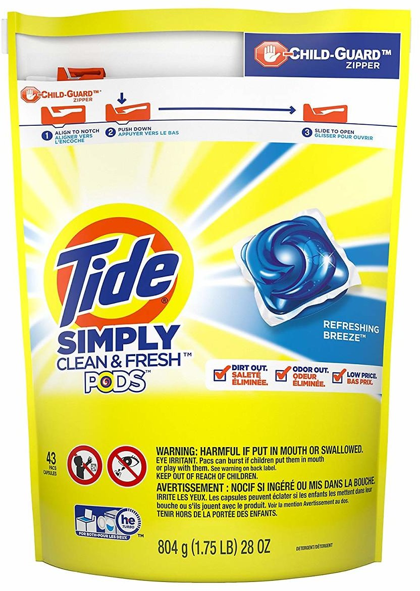 43-Ct. Tide Simply Clean & Fresh Laundry Pods