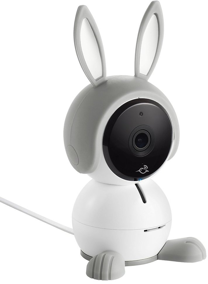 Arlo Baby Monitor | Smart Baby Camera with 2-way Audio, Night Vision, Lullaby Player, Night Light, Works with Amazon Alexa