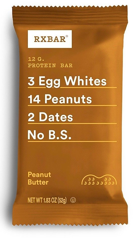 RXBAR Whole Food Protein Bar Peanut Butter (12 Count)