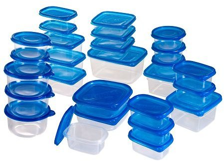 54 Piece Chef Buddy Food Storage Containers