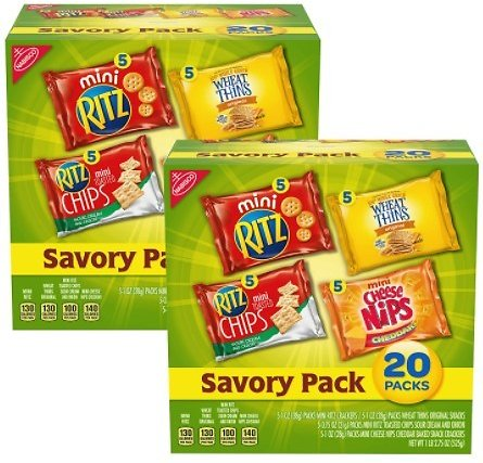 Nabisco Cracker 40-Count Variety Pack