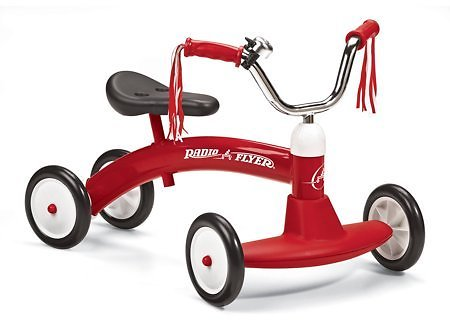 Radio Flyer Scoot About Ride On for Kids