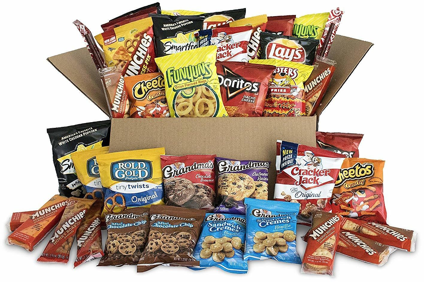 40Ct Frito-Lay Ultimate Snack Care Package