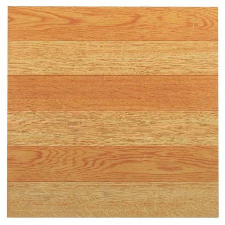 NEXUS Light Oak Plank-Look 12x12 Inch Self Adhesive Vinyl Floor Tile - 20 Tiles/20 Sq.Ft.