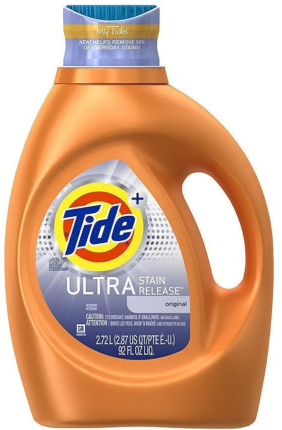 92 Oz Tide Ultra Stain Release Liquid Laundry Detergent