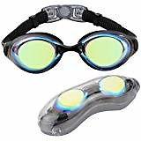 Aegend Anti-Fog Swim Goggles (Mult. Choices)