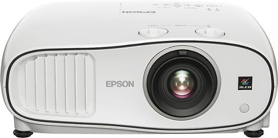 Epson - Home Cinema 3700 1080p 3LCD Projector - Gray/White
