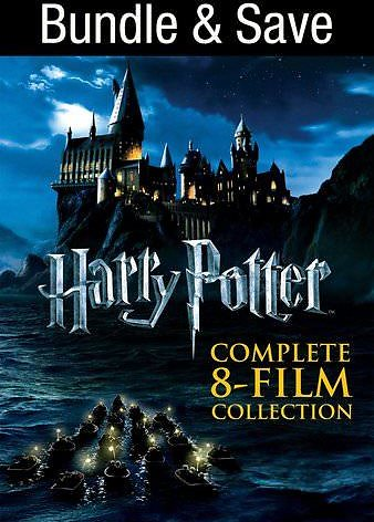 Harry Potter Complete 8-Film Collection (Bundle)